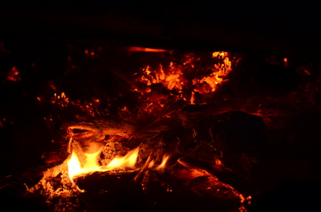 full hd: Detailed fire background full Hd ,slow motion, seamless loop.