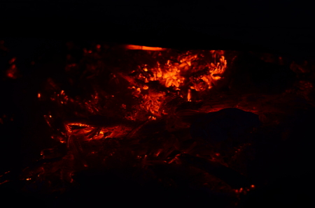 slow motion: Detailed fire background full Hd ,slow motion, seamless loop.