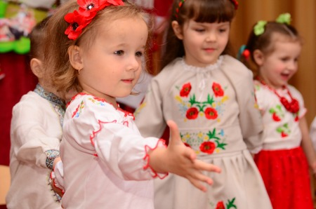 saint nicolas: Editorial Reportage Lutsk, Ukraine Malvina kindergarten, family holiday 19.05.17.