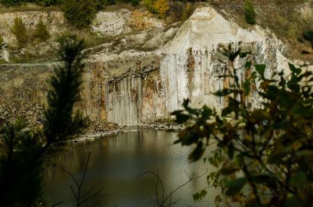 autumn on the lake. Imagens