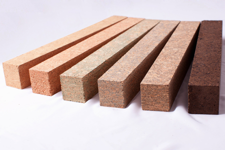 Cork for making fishing rods