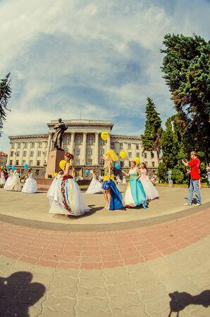 Bridal Parade, Lutsk Ukraine 29062014.