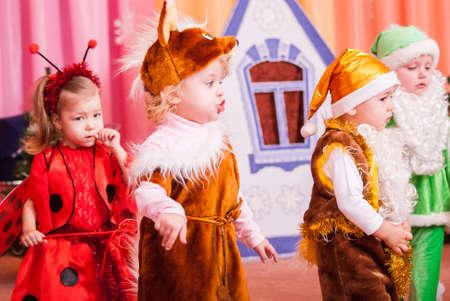 New Years morning in kindergarten editorial reportage Lutsk 21.12.2015