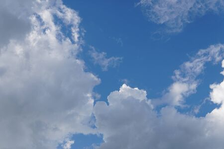 Sky cloud background. Stock Photo