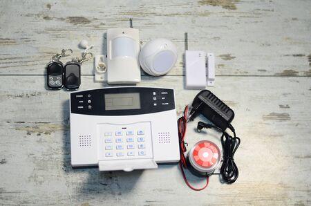 wireless alarm control device.