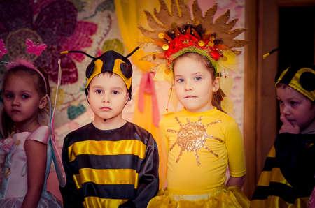 New Year's Eve, kindergarten Malvin, Lutsk Ukraine 05/03/2014.