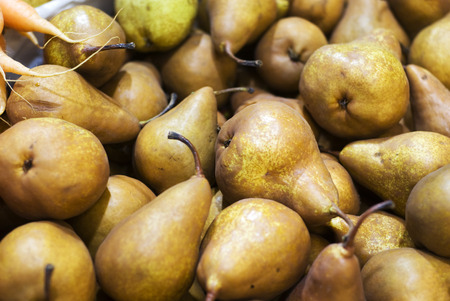 alimentation: Pears Stock Photo
