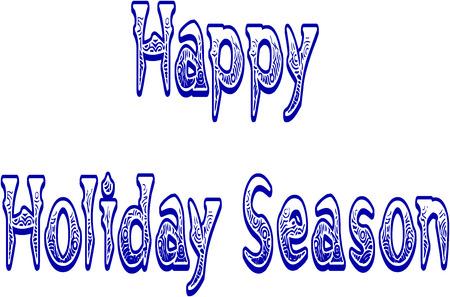 holiday season: Happy holiday Season