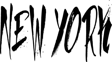 uptown: New york sign writen in black on white Bakground