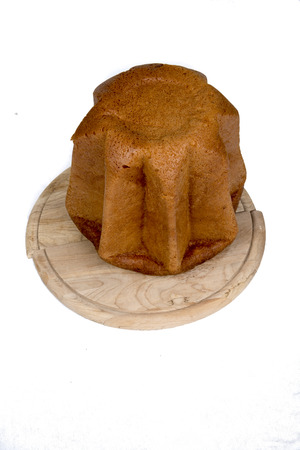Pandoro traditional italian Christmas cake