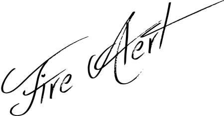 Spoiler Alert text sign illustration on white Background Ilustração