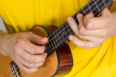 acoustical: Man Stock Photo