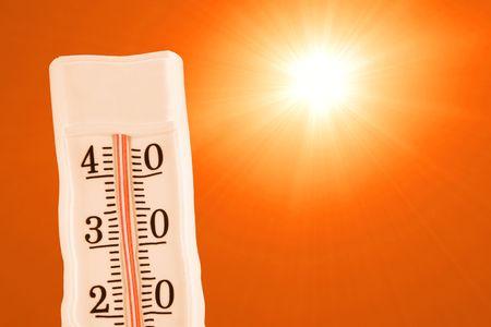 极端的夏天热
