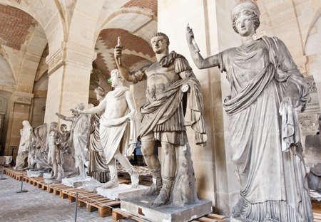 School of sculptors, restoration of sculptures, copy, workshop repair depot