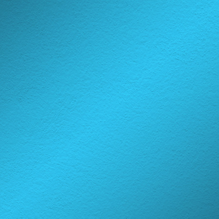 wall paint: blue wall paint texture with oblique shade light Stock Photo