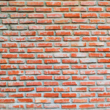 old red bricks wall pattern background