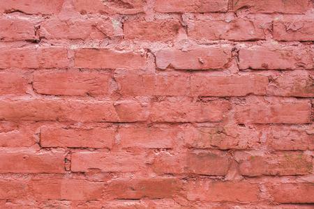 rode oude muur textuur achtergrond