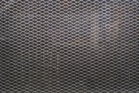 expanded: Expanded Metal with glass background