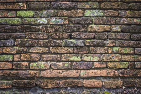 oude bakstenen muur achtergrond