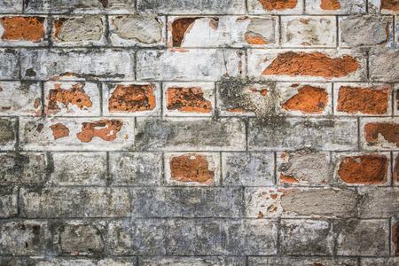 Oude gebarsten muur patroon achtergrond