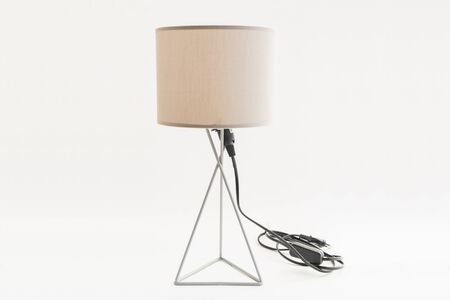 A lamp on the white isolated background Stockfoto