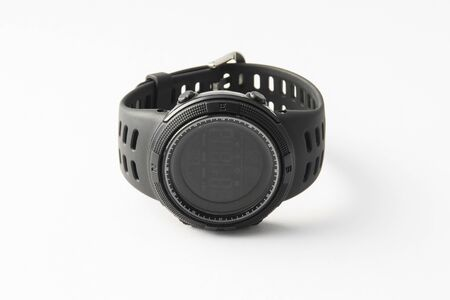 A digital watch on isolated background