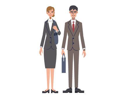 Men's and Women's Suits