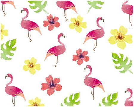 Tropical Image Illustration