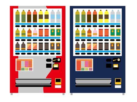 Illustration of vending machines
