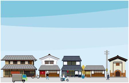 Old Buildings in Japan