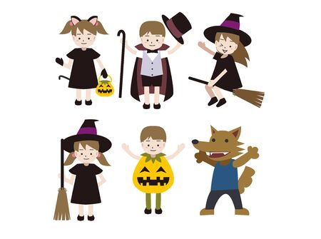 Halloween Cosplay Kids