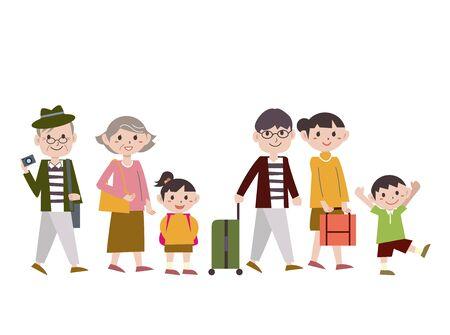 Family Gathering Walk