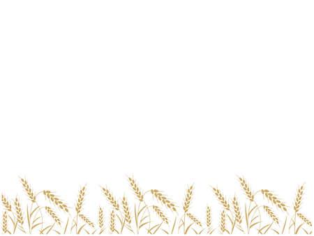 Wheat illustration material Ilustrace