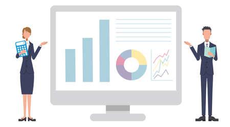 Presentation Monitor Screen Business