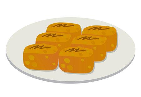 White dumplings