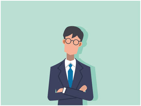 Business Young Salaried Worker Anxiety Worry