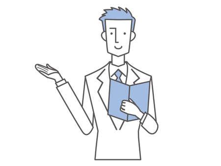 Salaried Man Description Upper Body