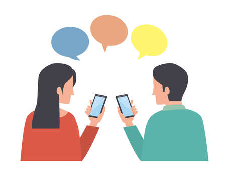 Smartphone Male Female Communication