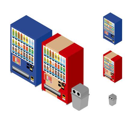 Vending machine isometric