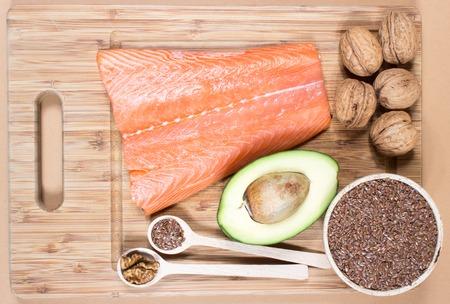 Sources of omega 3 fatty acids.