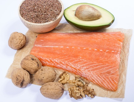 unsaturated fat: Sources of omega 3 fatty acids.
