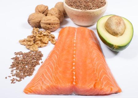 fish food: Sources of omega 3 fatty acids.