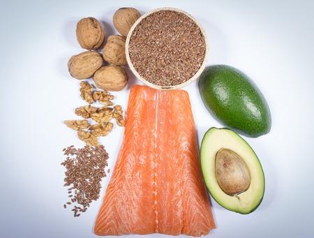 Bronnen van omega-3 vetzuren.