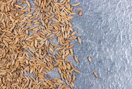 cumin: Close up of cumin seeds. Macro.