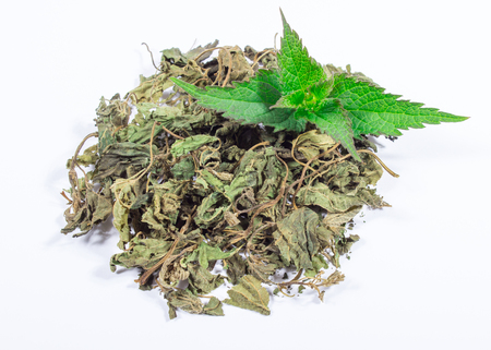 Healthy food, healing herbs, alternative herbal medicine concept. Stock Photo