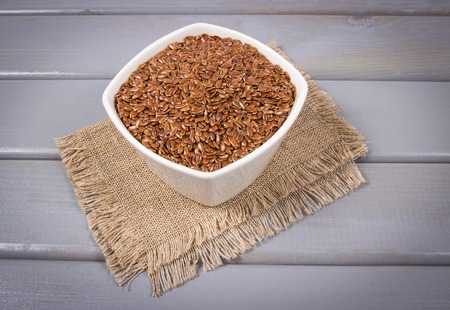 Linseed - an ingredient of a healthy diet.