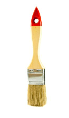 Paint brush on white background Stock Photo