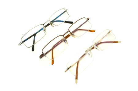 stylish eyeglasses for vision on a white background