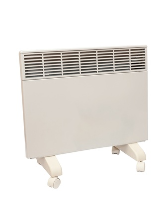 electric heater isolated on white background Stock Photo