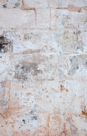Background of old brick wall and plaster